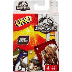 Jurassic World UNO Kartenspiel