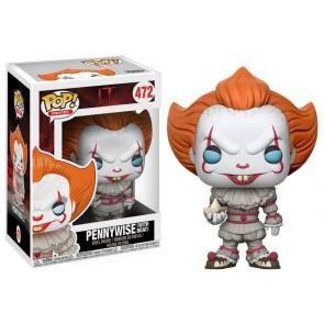 Stephen Kings Es Pennywise POP! with Boat Figur 9 cm