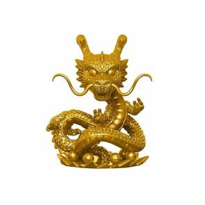 Dragonball Z Shenron POP! Gold Figur 15 cm