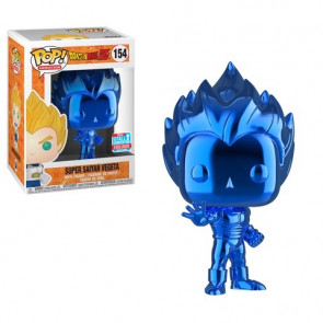 Dragonball Z Blue Chrome Vegeta POP! Figur 9 cm Exclusive