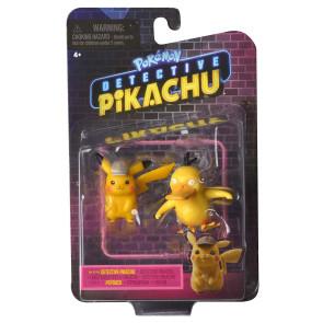 Pokémon Meisterdetektiv Pikachu - Pikachu & Enton Figuren 5 cm