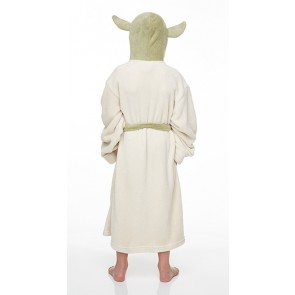 Star Wars Kids Fleece-Bademantel Yoda Größe S