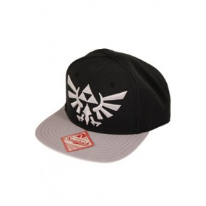 Nintendo Hip Hop Cap Zelda Grey Logo
