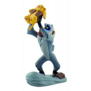 Der König der Löwen Figur Rafiki mit Simba 10 cm