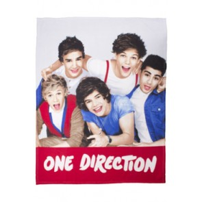 One Direction Fleecedecke Craze 120 x 150 cm