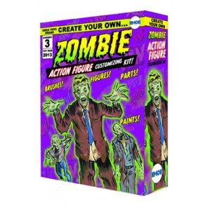 Create Your Own Zombie Action Figure Modellbausatz Previews Exclusive