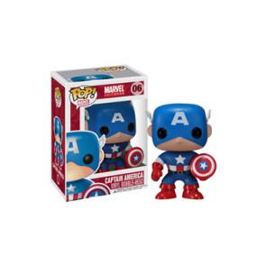 Marvel Comics POP! Vinyl Wackelkopf-Figur Captain America 10 cm