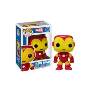 Marvel Comics Iron Man POP! Wackelkopf-Figur 10 cm