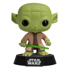 Star Wars POP! Vinyl Wackelkopf-Figur Yoda 10 cm