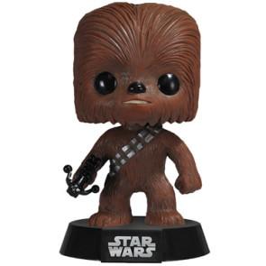 Star Wars POP! Vinyl Wackelkopf-Figur Chewbacca 10 cm