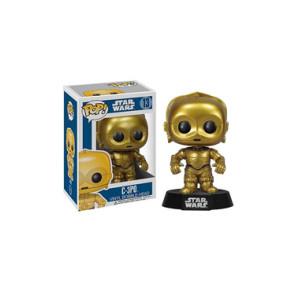 Star Wars POP! Vinyl Wackelkopf-Figur C-3PO 10 cm