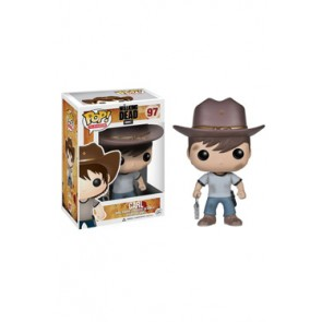 The Walking Dead POP! Vinyl Figur Carl 10 cm