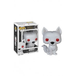 Game of Thrones POP! Vinyl Wackelkopf-Figur Ghost 10 cm