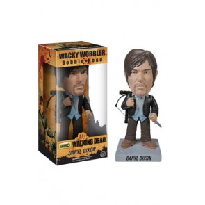 The Walking Dead Wacky Wobbler Wackelkopf-Figur New Biker Daryl 18 cm