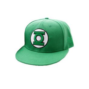 Green Lantern Hip Hop Cap Classic Logo