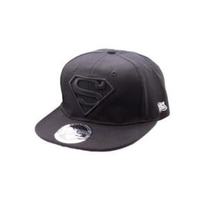 Superman Hip Hop Cap Black Logo