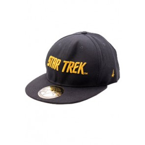 Star Trek Hip Hop Cap Golden Text