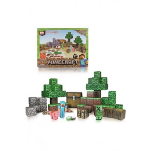 Minecraft Papercraft Figuren Set Overworld Deluxe