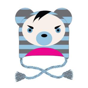 Freaks And Friends Skimütze Striped Bear