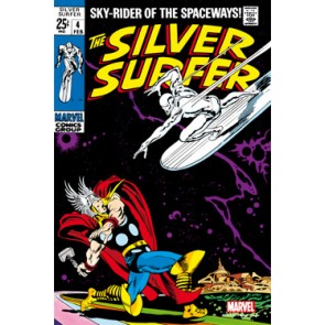 Marvel Comics Steel Covers Stahlschild Silver Surfer #4 42 x 65 cm