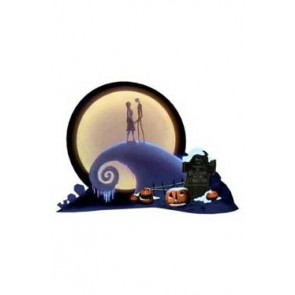 Nightmare before Christmas Diorama Spiral Hill 15 cm