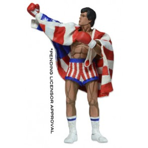 Rocky Actionfigur 1987 Video Game Appearance 18 cm