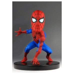 Marvel Classic Extreme Head Knocker Wackelkopf-Figur Spider-Man 13 cm
