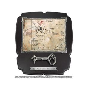 Der Hobbit Replik 1/1 Thorins Schlüssel und Karte zum Erebor Deluxe