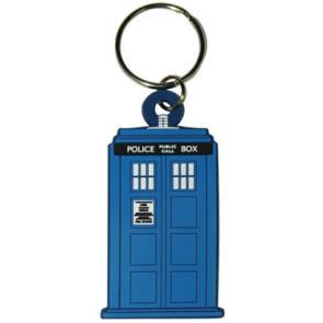 Doctor Who Gummi-Schlüsselanhänger Tardis