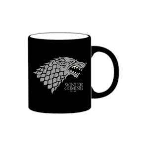 Game of Thrones Tasse Stark schwarz