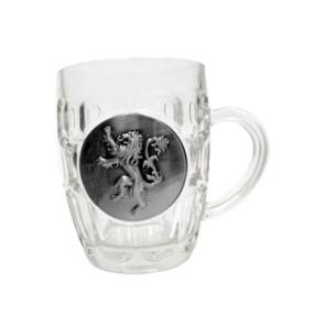 Game of Thrones Bierglas Lannister Metallic Logo