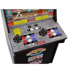 Arcade1Up Mini-Cabinet Street Fighter II Arcade-Automat 122 cm