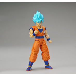 Dragonball Z Super Saiyan God Super Saiyan Son Goku Model Kit 18 cm