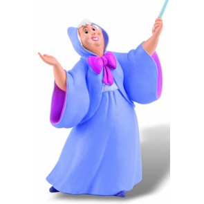Cinderella Figur Gute Fee 10 cm