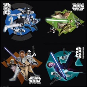 Star Wars Clone Wars 16er Pack Servietten