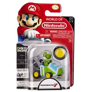 Mario Kart 7 Coin Racers Yoshi Pullback
