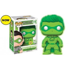 Emerald City Crusader POP! Glow in the Dark Figur 9 cm ECCC Exclusive