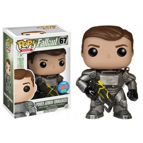 Fallout Power Armour Unmasked POP! Figur 10 cm NYCC Exclusive