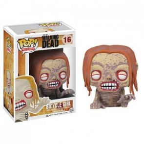 The Walking Dead POP! Television Figur Bicycle Girl Zombie