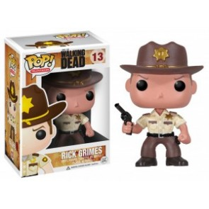 The Walking Dead POP! Television Figur Sheriff Rick Grimes