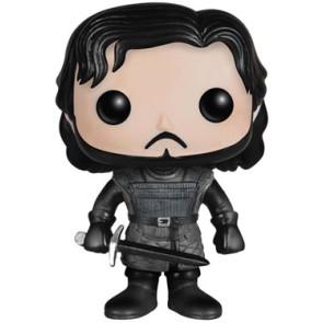 Game of Thrones Jon Snow Castle Black POP! Figur 10 cm