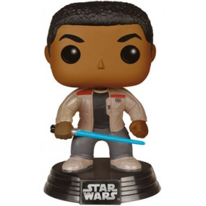 Star Wars VII Finn with Lightsaber POP! Figur 9 cm Exclusive