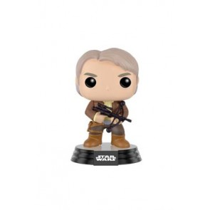Star Wars VII Han Solo Chewie Bowcaster POP! Figur 9 cm SDCC 2016 Exclusive