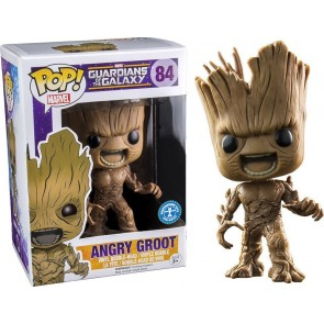 Guardians of the Galaxy Angry Groot POP! Figur 10 cm Exclusive