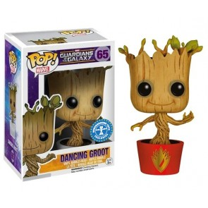Guardians of the Galaxy Ravagers Dancing Groot POP! Wackelkopf Figur 10 cm Exclusive
