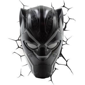 Marvel 3D LED Leuchte Black Panther