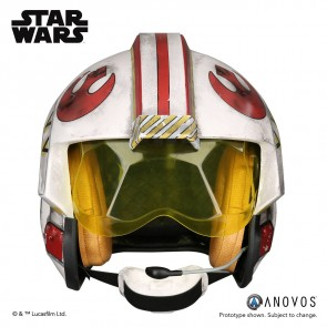 Star Wars Luke Skywalker Rebel Pilot Helm Prop Replica Accessory Version
