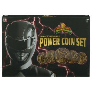 Power Rangers Legacy Die-Cast Premium Powermünzen Set