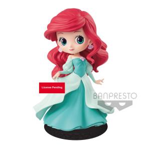 Disney Q Posket Minifigur Arielle Princess Dress A (Green Dress) 14 cm