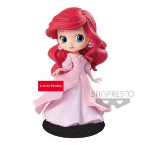 Disney Q Posket Minifigur Arielle Princess Dress B (Pink Dress) 14 cm